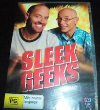 Sleek Geeks Series 2 (Dr Karl Kruszelnicki Adam Spencer) (Aust Reg 4) DVD – New