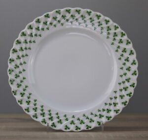 Haviland Limoges Trefle Vert Kleeblatt Kuchenteller Frühstücksteller Teller