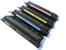 4 PACK COLOR LASERJET for HP 124A Q6000A Q6001A Q6002A Q6003A 2600 SET