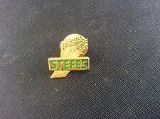 Vintage Stefes Enamel Pin Badge advertising wheat or corn sheaf