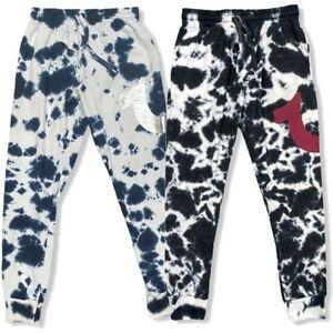 True Religion Men's Horseshoe Logo Tie Dye Loungewear Jogger Sweatpants