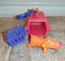 Sonic Wacky Pack Pet Keeper Red Kennel With Orange Dog 2001