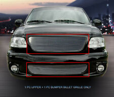 For 99-03 Ford F-150 Lightning Billet Grille Grill Combo Insert Fedar