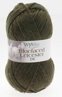 West Yorkshire Spinners Blue Faced Leicester DK Yarn Wool 50g - Avocado (350)