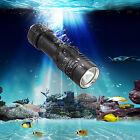 Waterproof 100M 5000Lm CREE XML T6 LED Scuba Diving Flashlight Torch Light 26650