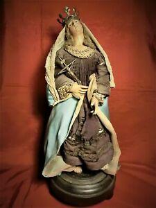 Grande ed Antica Madonna Napoletana del  1700 –XVIII / MUSEALE!!! Offerta!