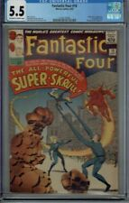 CGC 5.5 FANTASTIC FOUR #18 THE SUPER-SKRULL 1ST APPEARANCE 1963 OW/W PAGES