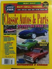 Classic Autos & Parts May 2017 Buy Sell Trade Sports Cars Rods FREE SHIPPING sb