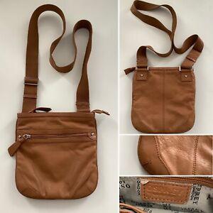 Preloved - Tan Brown Osprey Crossbody / Messenger Bag
