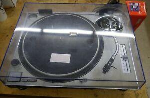Technics SL-1200MK2 Quartz Direct Drive DJ Turntable silver PLEASE READ