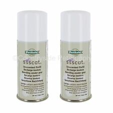 PetSafe Ssscat Spray Deterrent Refill 3.89oz Can, Ppd17-16165 (2-Pack)