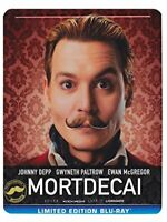 Mortdecai (steelbook) - BluRay O_B004196