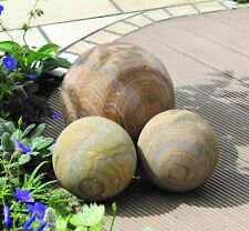 Sandstone Rainbow Sphere 200mm   Landscaping, Feature, Garden DELIVERY AVAILABLE