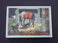14 Vintage Frontier Christmas Cards - Unused