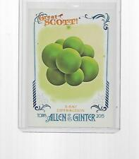 2015 TOPPS ALLEN & GINTER GREAT SCOTT X-RAY DIFFRACTION #GS-1