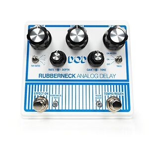 Used DOD Rubberneck Analog Delay Guitar Effects Pedal Digitech