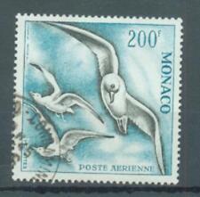 Thematic birds Monaco 1958 200 Fr Herring Gulls perf 13 sg.509a used