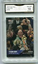 2019 Tyson Fury Topps Now Boxing Rookie Gem Mint 10