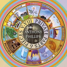 Private Parts & Pieces V-Viii - Anthony Phillips (2016, CD NIEUW)5 DISC SET