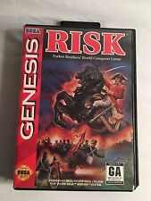 RISK WORLD CONQUEST GAME COMPLETE FOR SEGA GENESIS CONSOLE WITH MANUAL