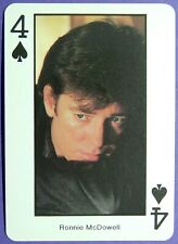 1 x playing card Country Music * Ronnie McDowell * 4 of Spades