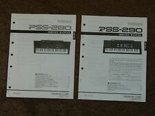 Yamaha PortaSound Keyboard PSS-280 PSS-290 Service Manual Stromlaufplan Teil Liste