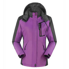 Women Winter Ski Snow Warm Windproof Outdoor Sports Jacket Coat Thicken Coat pop