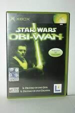 STAR WARS OBI-WAN GIOCO USATO OTTIMO STATO XBOX EDIZIONE ITALIANA PAL FR1 41751
