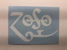Led Zeppelin Zoso black bg Vinyl Sticker Decal indoor//outdoor full color