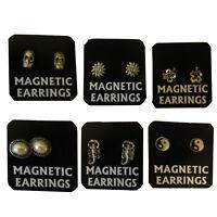 Magnetische Ohrringe 6 Paare viele Motive PORTOFREI Ohrschmuck Accessoire