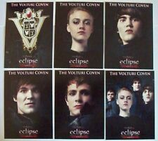 Twilight Saga Eclipse Series 2 Set of 6 Cards The Volturi Coven VO-7 to VO-12