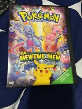 Pokemon The First Movie: Mewtwo vs. Mew (DVD 2000) !•US•Out-of-Print