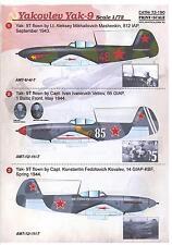 Print Scale Decals 1/72 YAKVOLEV Yak-9 Russian WWII Fighter