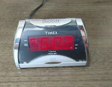 Timex Alarm Clock T103S - Programmable Snooze - Calendar - Display Off Switch