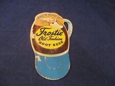 Frostie Old Fashion Root Beer Mini Cardboard Store Display Vintage