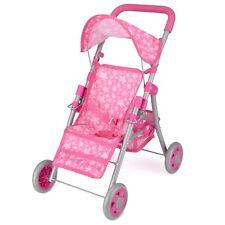 NUOVO Ragazze Prima Bambola Buggy giocattolo Passeggino leggero Passeggino Buggy 3 RUOTE