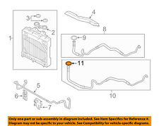 BMW OEM 10-18 X5 4.4L-V8 Transmission Oil Cooler-Outlet tube o-ring 17227800958