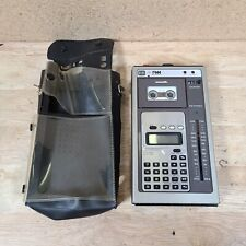 Pm Industries Japan Microcassette Recorder Am/Fm Radio and Calculator Vintage