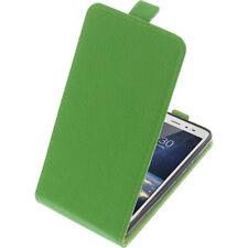 Custodia Per Tp-Link Neffos X1 Lite Custodia Cellulare Modello Flip Verde