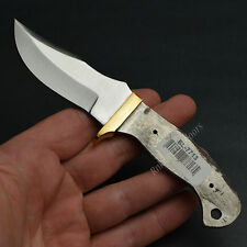 "6 7/8"" Full Tang Modified Clip Point Stainless Steel Knife Making Blade Blank"