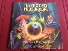 Infected Mushroom - Return To The Sauce 2017 BLACK Vinyl 2LP Psy Trance SEALED