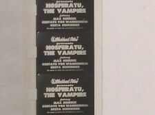 "SUPER 8mm BLACKHAWK FILM ""NOSFERATU THE VAMPIRE""-HORROR-3 REEL/ IN CANS-SILENT"