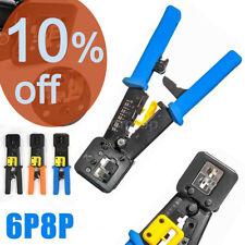 Multifunction Network Ethernet Lan Rj45 Cable Tester Crimper Crimping P6/P8 Tool