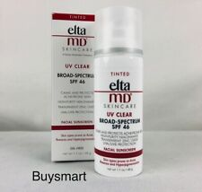 Elta MD UV Tinted Clear Broad-Spectrum SPF 46 Skincare Sunscreen 1.7 oz / 48 g