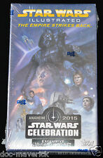 2015 Star Wars Celebration Anaheim Topps Exclusive 10 Card Mini Set ESB  Legends