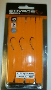 savage gear Perfect finesse drop shot ready rigs 3pcs and rig board crazy price