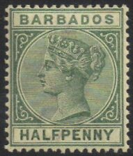 Lightly Hinged British Colony Postage Stamps