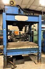 9709 100 Ton Hydraulic 4 Post Press