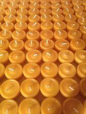 30 Bienenwachs Teelichter, Bienenwachs Kerzen