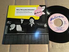 """WOLFGANG NEUSS UND WOLFGANG MÜLLER - WIR WUNDERKINDER - 7""""-EP - HELIODOR (12)"""